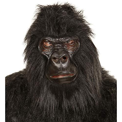 WIDMANN - Máscara para disfraz de adulto Gorila (1119) ,