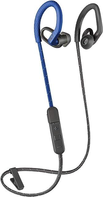 Plantronics BackBeat FIT 350 Wireless Headphones, Stable, Ultra-Light, Sweatproof in Ear Workout Headphones, Blue