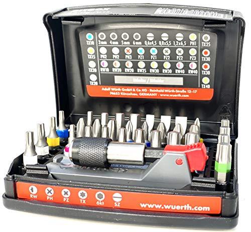 Würth Bitbox 33tlg Bitset Bitsatz Bitsortiment magnetischer Bithalter 0614400301