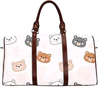 Yunshm Collection Of Cute Cartoon Dogs Personalized Trolley Handbag Waterproof Unisex Large Capacity For Business Travel Storage