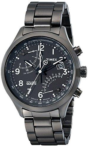 Timex Herren Analog Quarz Uhr mit Edelstahl Armband TW2P60800