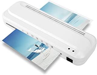 Laminator Machine, A4 laminator with 100 Laminating Pouches, Rapid High Efficient Laminating, No Paper Jam, 9 Inch MAX Width, for Home and Office