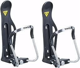 Topeak Modula Cage II Water Bottle Holders for Bike Frame or Handlebars, 2-Pack | Adjustable | Easy to Install