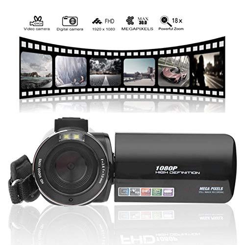FOLOSAFENAR Telecomando con Supporto per Schermo LCD Anti-Vibrazioni della videocamera, con Set di luci di riempimento a LED