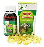 Analog Sustamed Badger Fat Natural Source of Polyunsaturated Fatty Acids - 60 Capsules by SHSH trade group