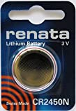 Coin Cell Battery 3V 24.5 x 5.0mm 540mAh (10 pieces)