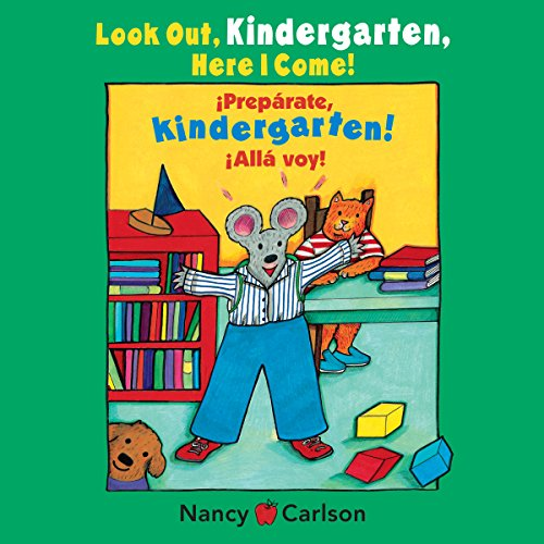 Look Out Kindergarten, Here I Come                   By:                                                                                                                                 Nancy Carlson                               Narrated by:                                                                                                                                 Cheryl Stern                      Length: 4 mins     Not rated yet     Overall 0.0