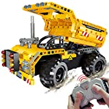 STEM Engineering Toys | Dump Truck Building Set with Remote Control, Fun Educational Construction...