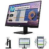 【高さ調節・縦横回転機能対応】HP 27インチ P27h フルHD・IPS液晶モニター 非光沢 ブルーライト削減/フリッカーフリー機能で目の疲れを軽減 VGA・HDMI・DisplayPort接続ケーブル同梱 3年引取り修理保証付