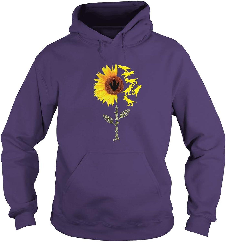 You're My Sunshine Sunflower Dinosaur Trex TShirt