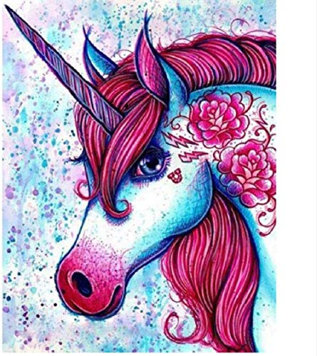 Houten puzzel 1000 stukjes Klassiek Volwassenen Puzzless Horse Red Unicorn Animaldiy Educatief Puzzlehome Decor Unique Gift-75X50Cm