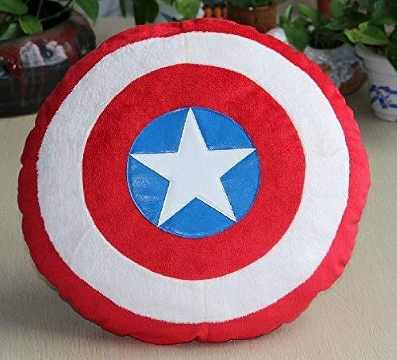 Captain America Stuffed Plush Pillow Cushion Toy 35 Cm