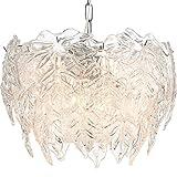 Yyqx Lámpara Colgante Lámpara de Cristal Salón Comedor Inicio Creative Araña Lámpara de araña