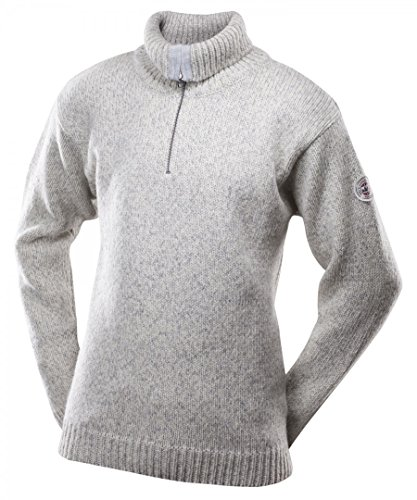 Devold Originals Nansen Zip Neck Sweater Men - Woll Pullover mit Front-Zipper