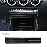 Schwarze Auto-Organizer-Box für Benz B-Klasse W247 2019 2020 ABS Mittelkonsole...