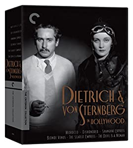Dietrich and von Sternberg in Hollywood Morocco, Dishonored, Shanghai Express, Blonde Venus, The Scarlet Empress, The Devil Is a Woman The Criterion Collection