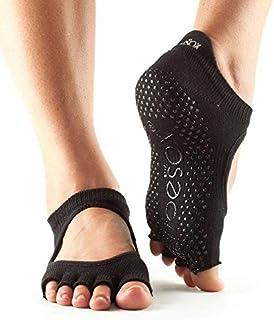 Toesox Half Toe Bellarina, Calze Antiscivolo da Yoga e Pilates Unisex Adulto