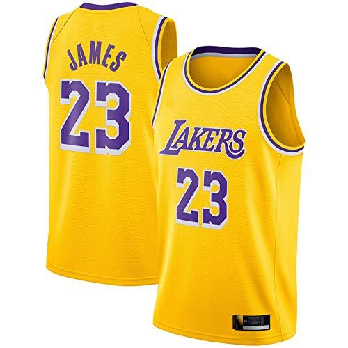 SGYW Angeles Jersey Lakers #23 Entrenamiento Niño Baloncesto Amarillo Jerseys Lebron Los Baloncesto Home Jersey Baloncesto James Jersey Chaleco