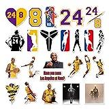 Kobe 24 PC Vinyl Stickers Decal Set