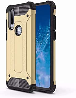 FanTing Case for Motorola Moto E7 Plus,[Shockproof] [Heavy Duty] [Tough Armoured] Generous Rugged Tough Dual Layer Armor C...