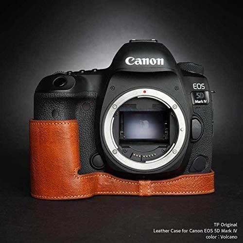 TP Original Leather Camera Body Case for Canon EOS 5D Mark IV Volcano ボルケーノ キャノン キヤノン 本革 カメラケース レザーケース おしゃれ デジタル 一眼レフカメラ ケース 速写ケ