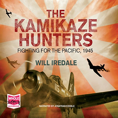 The Kamikaze Hunters audiobook cover art