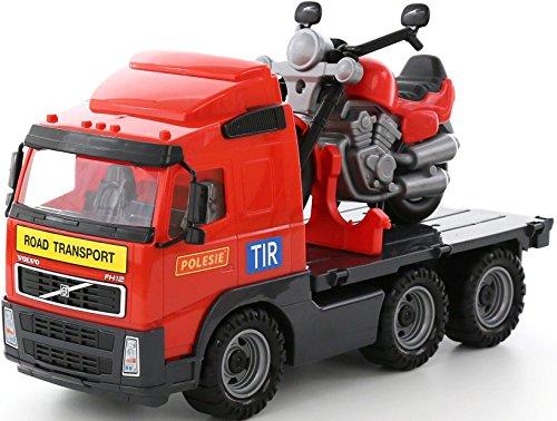 polesie 8770 Volvo platform Truck Plus Racing motorfiets