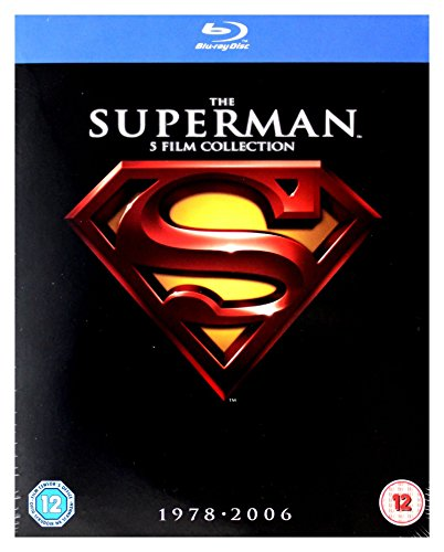 Superman: The Ultimate Collection (5 Blu-Ray) [Edizione: Regno Unito] [Reino Unido] [Blu-ray]
