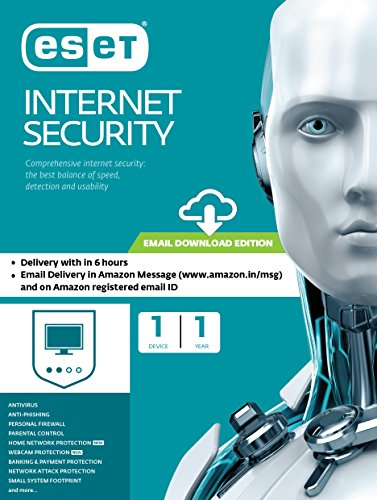 Eset Internet Security – 1 User, 1 Year (Email Delivery in 2 hours- No CD)