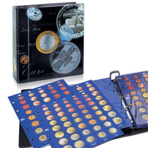 SAFE 7817 Classeur monnaie euros de tout les pais - Album de pièces de monnaie en euro - classeur pieces de monnaie pour votre collection de pièces de monnaie 1 Cent à 2 Euro