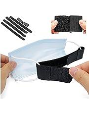 5 PCS Mask Ear Strap Hook Mask Strap Extender Mask Holder, Masks Extension Hook for Anti-Slip Ear Protectors for Masks, Black
