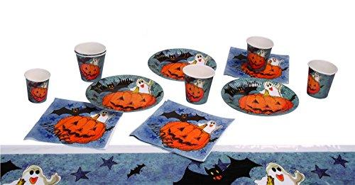 Boland Set de Table Halloween « Pumpkin & Friends » Orange Référence 74480