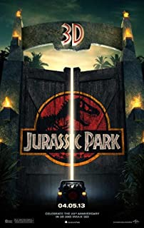 Jurassic Park 3D (2013) 27 x 40 Movie Poster - Style A
