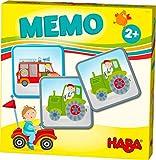 HABA 303760 - HABA-Lieblingsspiele – Memo Fahrzeuge | Memo-Spiel mit 16 extragroßen Karten | 8 Kartenpaare mit bunten Fahrzeugmotiven | Spiel ab 2 Jahren
