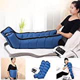 GaoFan 6 Cavity Electric Air Compression Massager Pressotherapy Leg Arm Waist Massager Compression Boots Machine Promote Blood Circulation Relieve Pain Fatigue