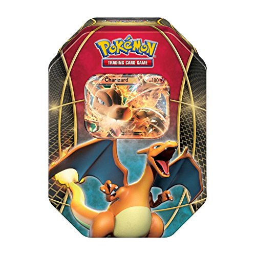 Pokemon Tins 2016 Trading Cards Best of Ex Tins Featuring Charizard Collector Tin