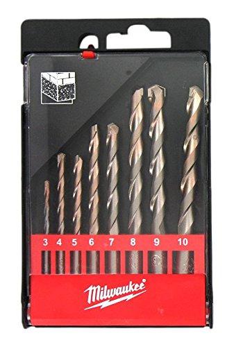 Milwaukee 4002395369935 Coffret de 8 Forets, Multicolore