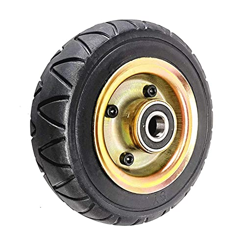 XXLYY Electric Scooter Tires, 8-inch Garden Trolley/Engineering Vehicle Non-Slip Wear-Resistant Solid Tires, Full Wheel Set, 200x60 Optional,20mm Full Wheel