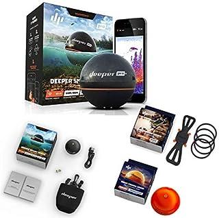Deeper Smart Sonar Pro + Set WiFi + GPS + Smartphone Soporte + Night Fishing Cover