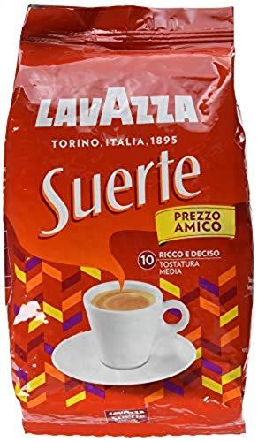Lavazza Suerte (Roast and Ground) Kaffeebohnen für Espressomaschinen - 1 kg