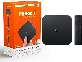 Xiaomi Mi Box S Android TV con Google Assistant Remote Strea