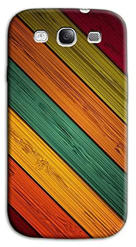 Mixroom - Cover Custodia Back Case in TPU Silicone Morbida per Samsung Galaxy S3 Neo i9301 i9300 Fantasia Legno colorato N1120