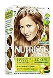 Garnier Nutrisse Creme Coloration Toffee Mittelblond 70 / Färbung für Haare für permanente...