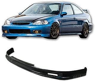 PULIps HDCV990MUFAD - M-Spec Style Front Bumper Lip For Honda Civic 1999-2000