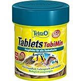 Mühlan Zoobedarf Tetra Tabletas TabiMin 120 Pieza, Comida en Escamas, Alimento Principal