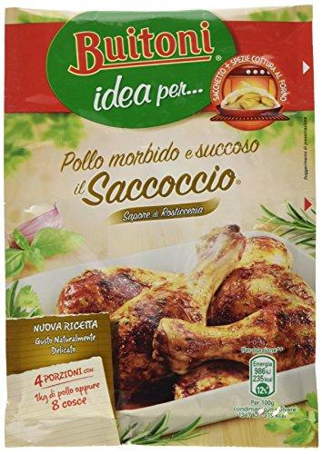 Buitoni Idea per Il Saccoccio Sapore di Rosticceria Sacchetto e Spezie per Pollo al Forno, 1 Pezzo