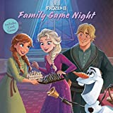 Disney Frozen 2 Family Game Night: Includes Card Game! (Pictureback)