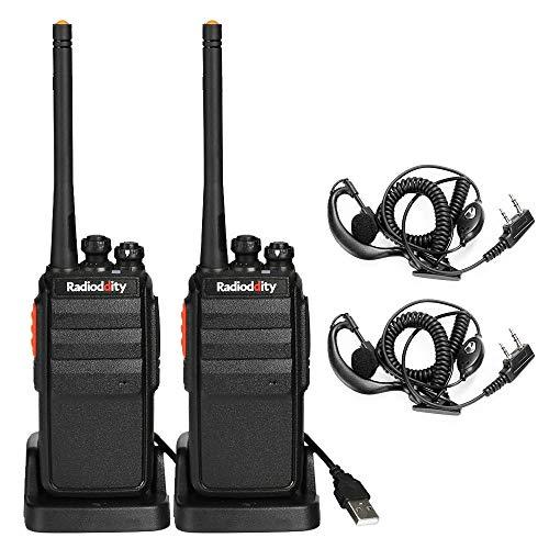 Radioddity R2 PMR446 Walkie Talkie Set...