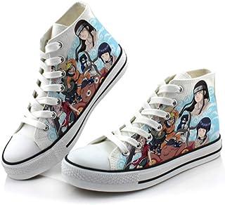 H&Y Fan/áticos del Anime Naruto Zapatos De Lona Cosplay Alpargatas Planas Casual Hombre Mujer