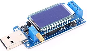 DC-DC LCD USB Step UP/Down Power Supply Module Adjustable Boost Buck Converter 5V to 3.3V 9V 12V 24V Desktop Power Module